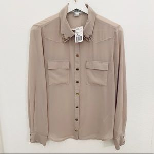 NEW Forever21 Button Up Blouse